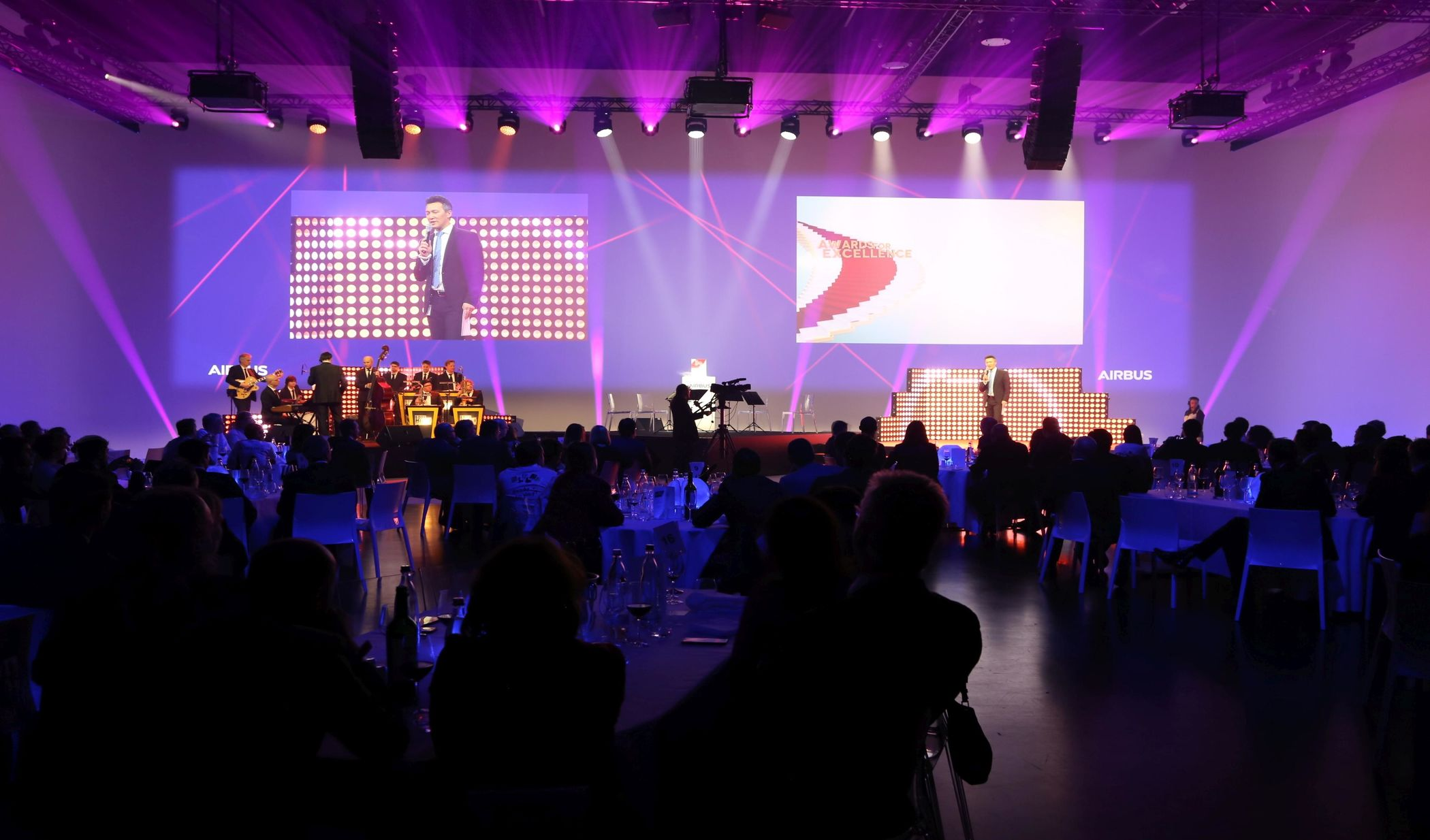 Limelight Veranstaltungstechnik Airbus Awards for Excellence
